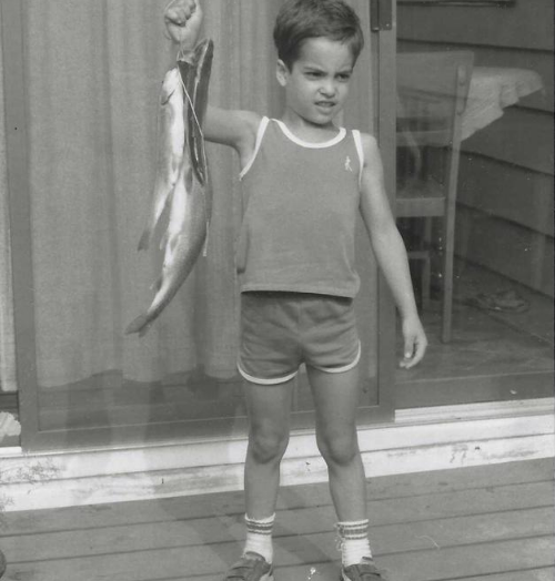 Mark Woltman Child Picture